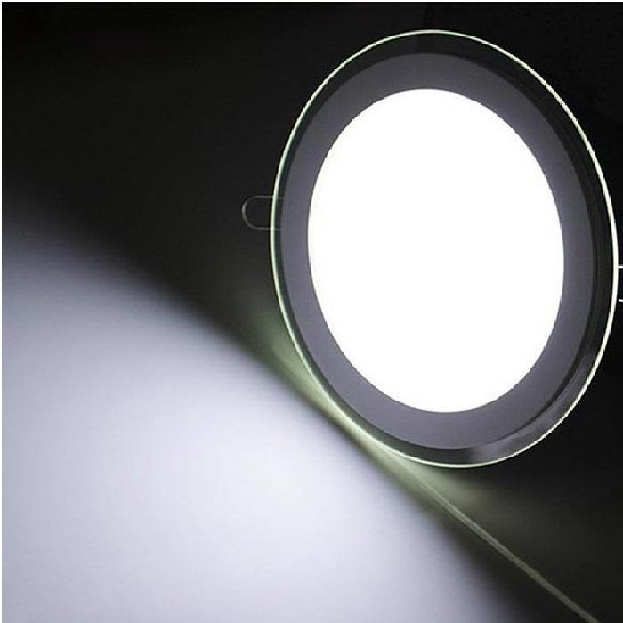 پنل ال ای دی 12 وات دور شیشه ای