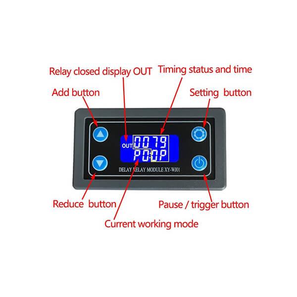 تایمر دیجیتال روپنلی مدل XY-WJ01 5