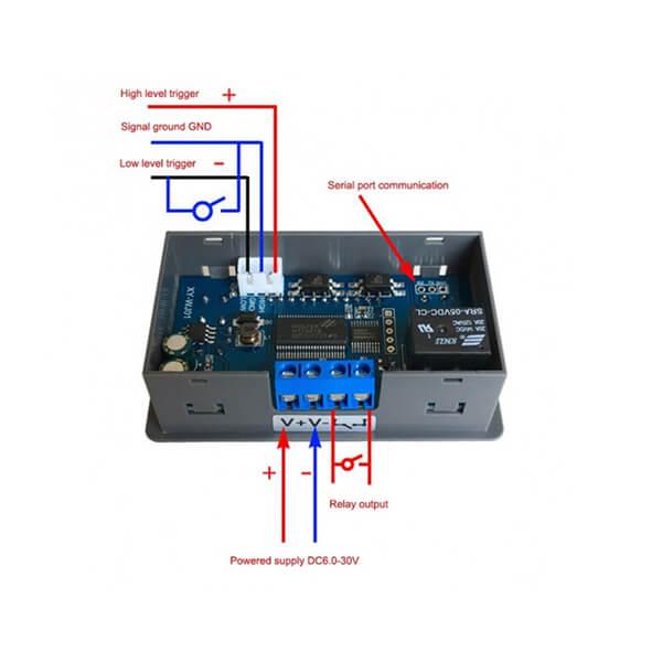 تایمر دیجیتال روپنلی مدل XY-WJ01 6